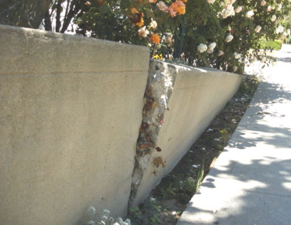 DIYwallFix Concrete Retaining Wall Restoration Process